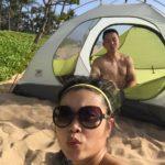 Chinaman and his tent