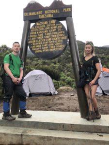 First camp site!